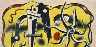 Fernand Léger (1881 – 1955) « Composition au compas », 1932 Huile sur toile Signé et daté en bas à droite et titré au verso