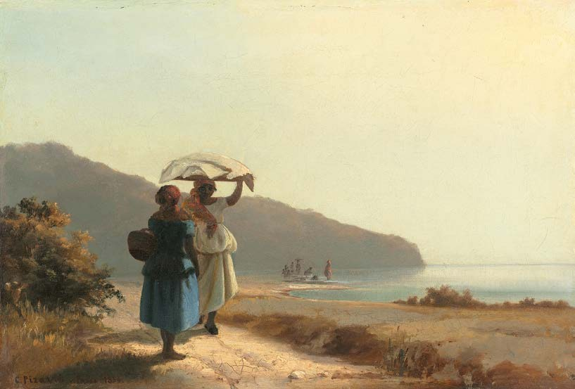 Deux Femmes causant au bord de la mer, 1856 Huile sur toile, 27, 7 x 41 cm Collection of Mr. and Mrs. Paul Mellon, Washington, National Gallery of Art © Courtesy National Gallery of Art, Washington