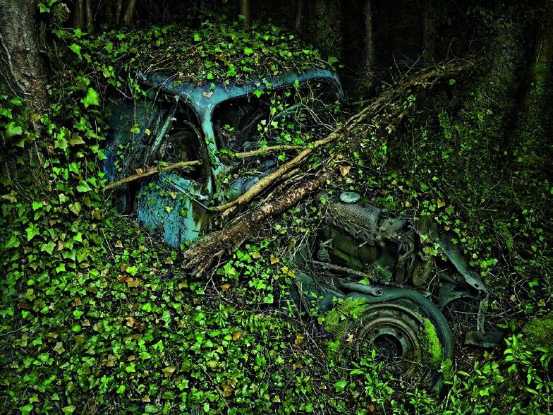 Peter Lippmann, Citroën Traction 7, 2012, série Paradise Parking, tirage chromogène, 75 x 100 cm Collection de l'artiste © Peter Lippmann