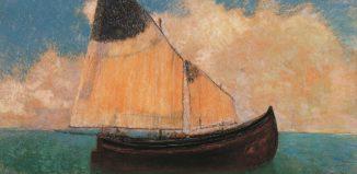 Odilon Redon A la dérive (La barque), 1906 pastel sur carton, 51 x 67 cm Collection particulière photo Peter Schälchli, Zurich