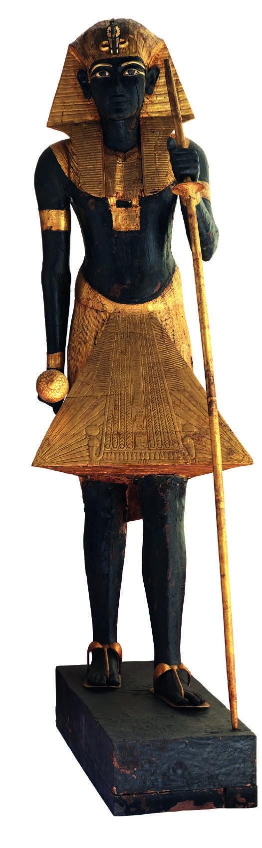 Statue à l'effigie du roi montant la garde, XVIIIe dynastie, règne de Toutânkhamon, 1336-1326 av. J.-C.