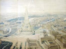 Iofan, Chtchuko, Gelfreikh Palais des soviets, 1932 Shchusev State Museum of Architecture, Moscow