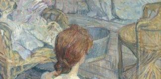 Rousse (La Toilette), 1889 Huile sur carton, 67 x 54 cm Musée d'Orsay, Paris © Rmn-Grand Palais (Musée d'Orsay) Hervé Lewandowski
