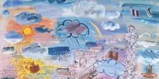 Raoul Dufy Paris et la Tour Eiffel 1936 Collection privée © Tous droits réservés
