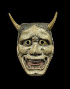Masque de théâtre NôHannya noh-men