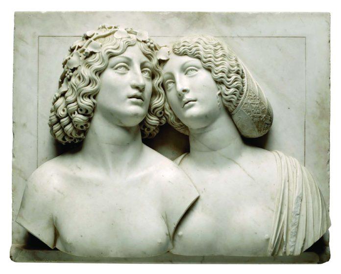 Tullio Lombardo Bacchus et Ariane vers 1505-1510 Kunsthistorisches Museum Vienne Kunsthistorischesmuseum Vienne
