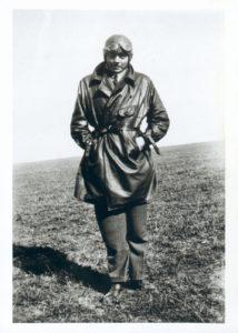 Antoine de Saint Exupéry en tenue de pilote en Argentine