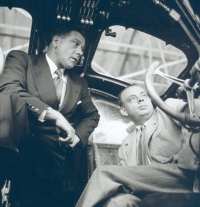 Antoine de Saint Exupéry_Saint Ex avec Guillaumet dans Cockpit HQ